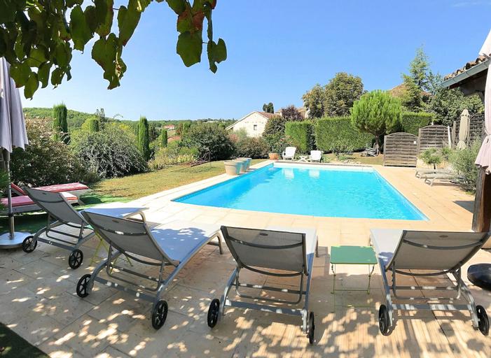 2 Gîtes 1 chambre, près de Cahors, piscine, wifi, Lot