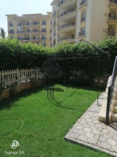 rehabb city appartment with garden شقة بمدينة الرحاب بحديقة للايجار الفندقى, New Cairo 2