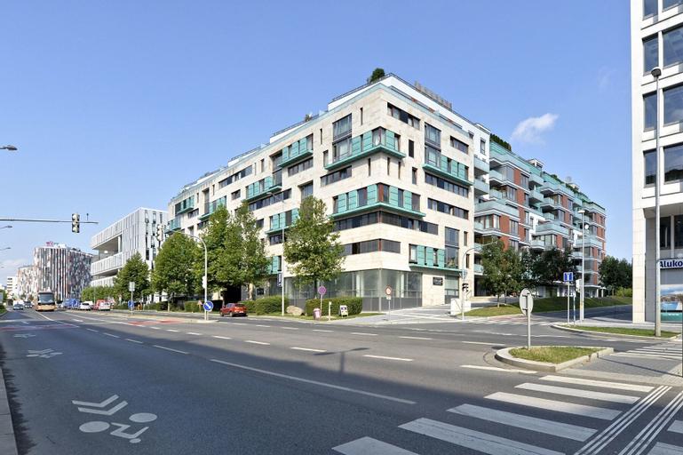 Luxury apartment River Diamond residence, Praha 7