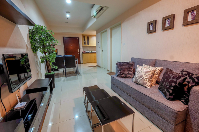 1 Bedroom Apartment Casa Grande Residence by Travelio, Jakarta Selatan