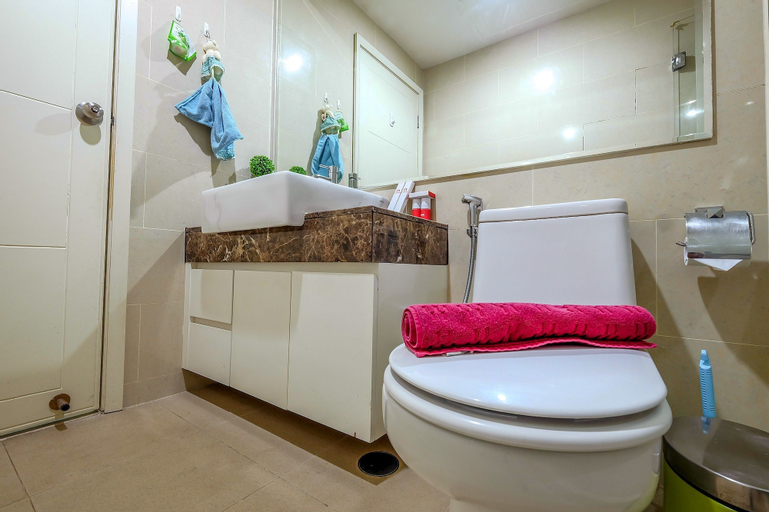 1 Bedroom Apartment Casa Grande Residence by Travelio, South Jakarta