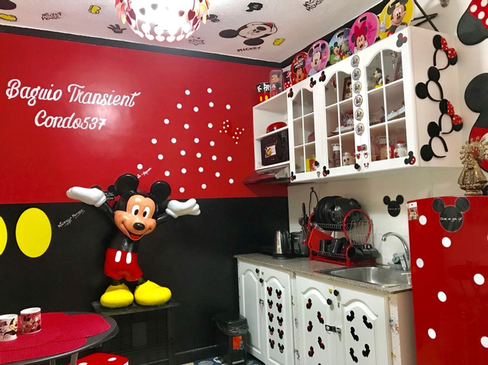 Mickey and Minnie Mouse Unit 537 Albergo, Baguio City