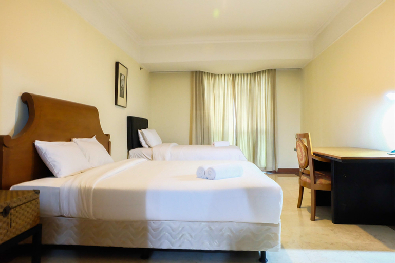 Spacious For 4 Pax Casablanca Apartment Near Kokas, Jakarta Selatan