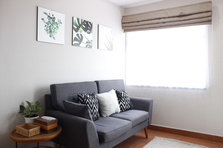 Stylish & Comfy 2BR Grand Asia Afrika Apartment By Travelio, Bandung