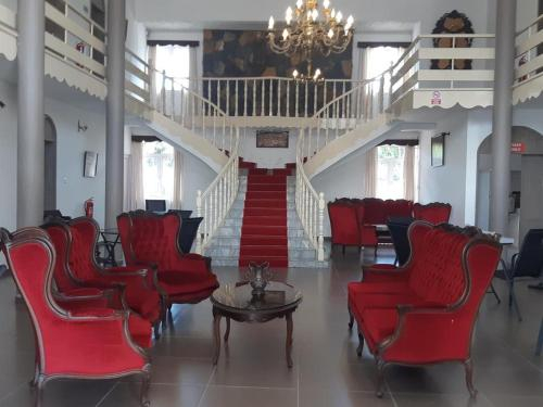 Room for two at Palais Otentik Restaurant n hotel,
