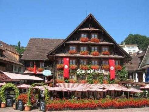 Swiss-Chalet Lodge – Swiss-Chalet Merlischachen, Küssnacht