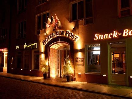 Altstadt Hotel zur Post Stralsund, Vorpommern-Rügen
