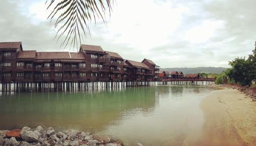 The lagoon water resort, Langkawi