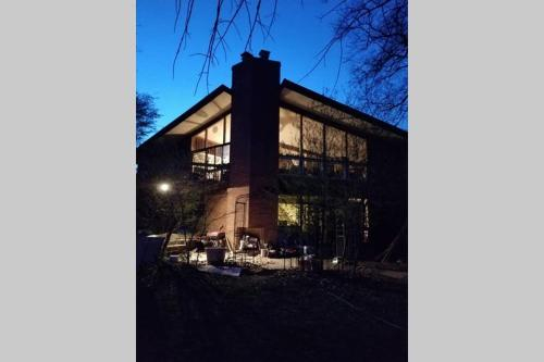 Mid Century Modern Chalet with Water View, Prince George's