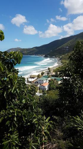 Purple Pineapple Guest Houses - Overlooking Apple Bay, Tortola BVI,