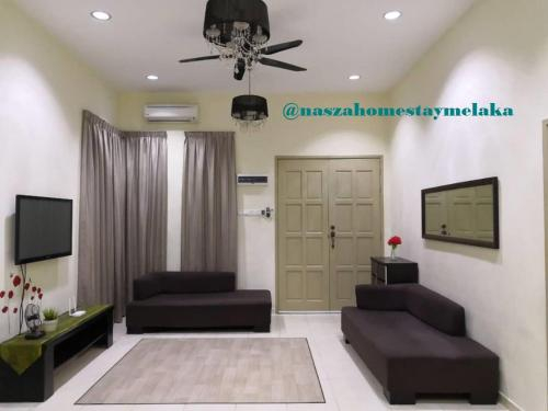 Semi D vacation home full AC near Ayer Keroh, Alor Gajah