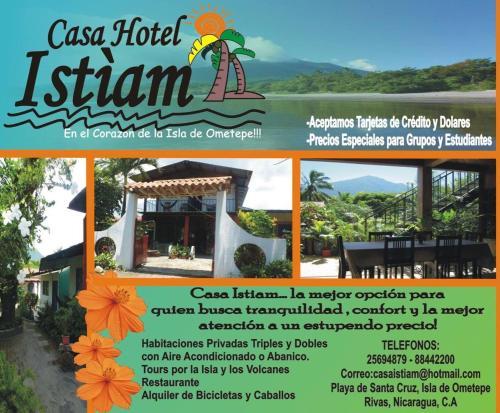 Casa Istiam, Lago de Nicaragua