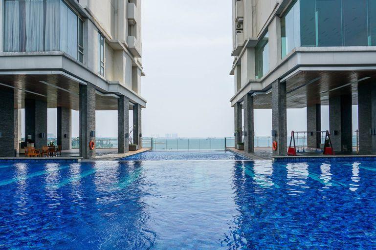 Modern Studio Ancol Mansion Town Home Apartment, North Jakarta