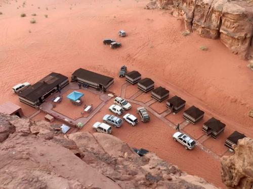 desert lovers camp. wadi rum, Quaira