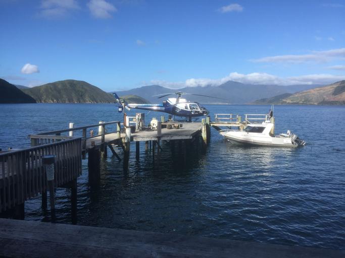 The Lodge At Te Rawa - Boat Access Only, Marlborough