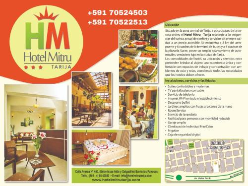 Hotel Mitru - Tarija, Cercado