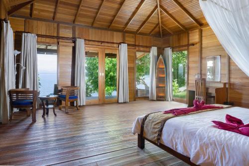 Sali Bay Resort, Halmahera Selatan