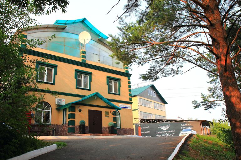 Hotel Green Roof, Zav'yalovskiy rayon