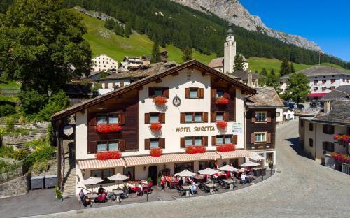 Hotel Suretta, Hinterrhein