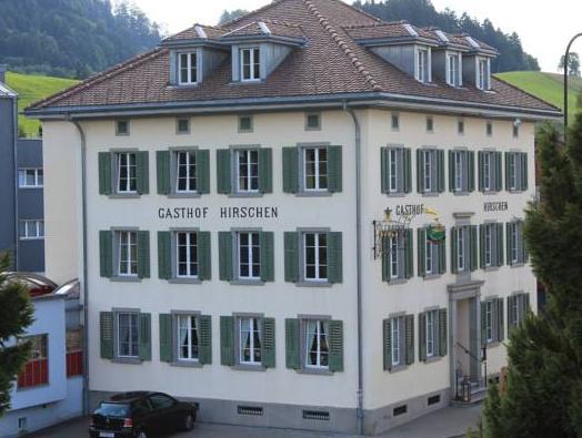 Hotel zum Hirschen, Höfe