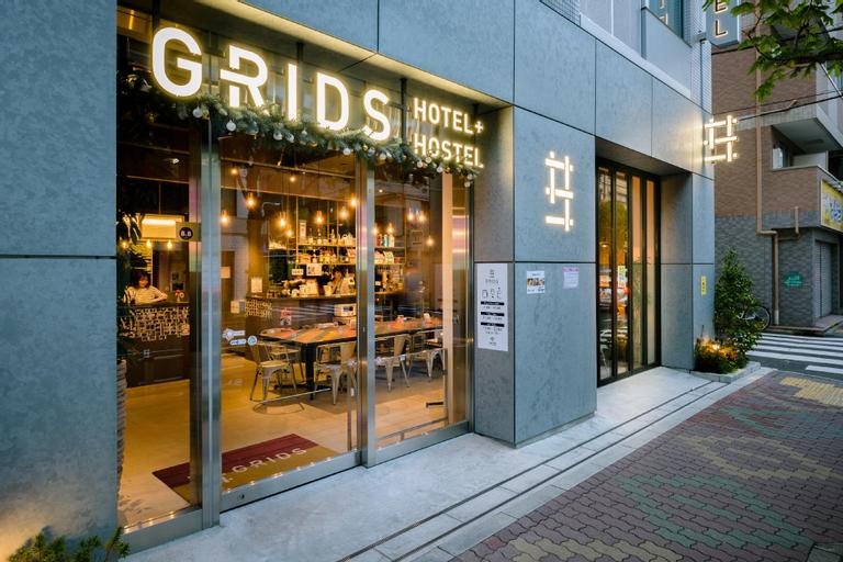 GRIDS TOKYO ASAKUSA-BASHI HOTEL&HOSTEL, Chiyoda