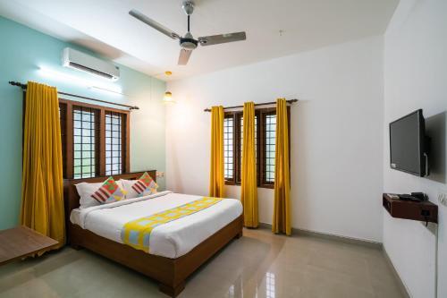 Lively 1BR Apartment in Kochi, Ernakulam