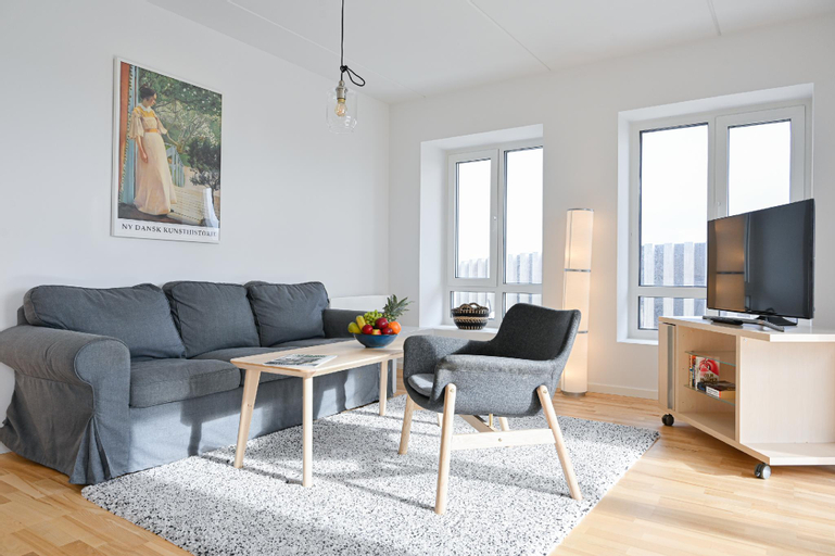 Two-bedroom Apartment with Amazing View and Sunny Balcony next to Royal Arena, Copenhagen