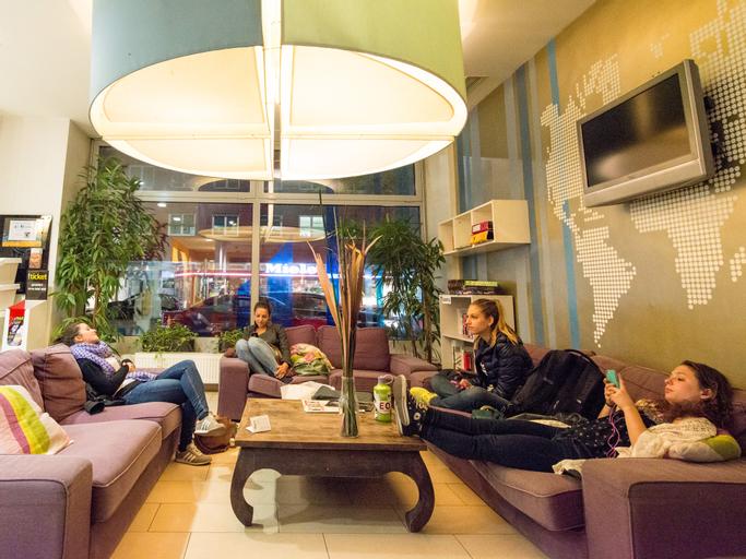 Wombats City Hostel Vienna - The Lounge, Wien