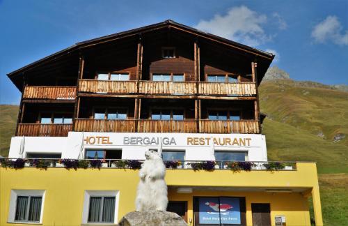 Hotel Bergalga, Hinterrhein