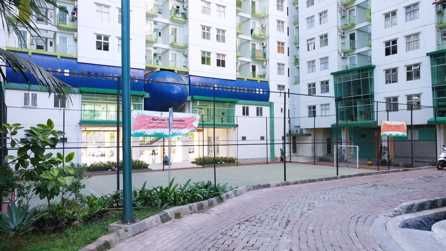Modern 1BR Apartment at Pancoran Riverside By Travelio, South Jakarta