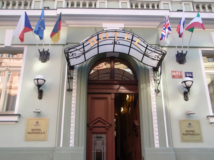 Hotel Raffaello, Praha 2