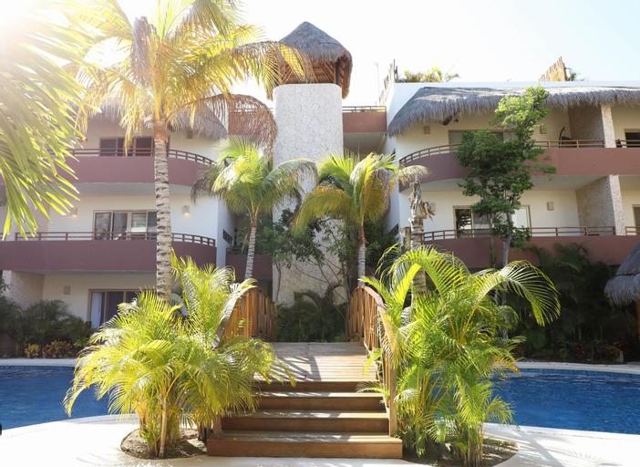 Honey 2 BRM sleeps 4 balcony, Cozumel