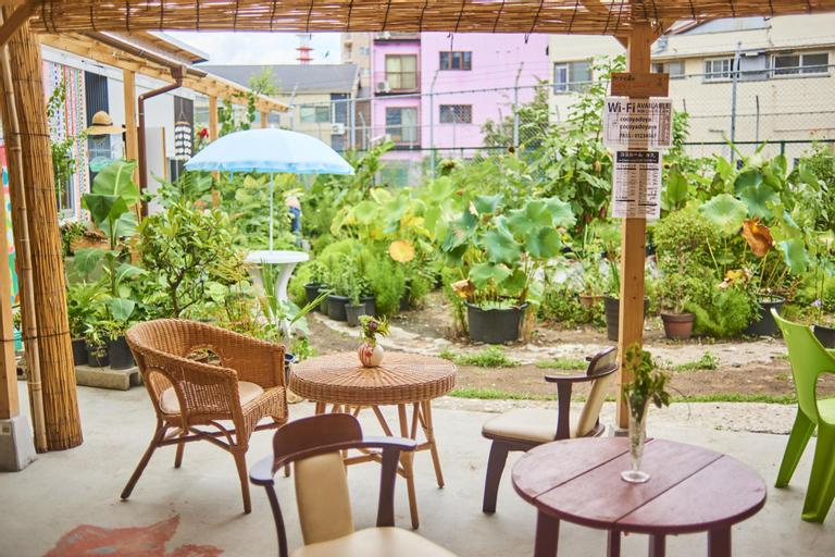 Cocoroom Cafe Garden Guest House, Osaka