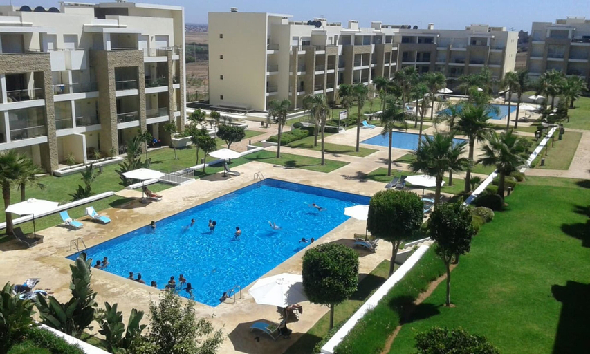 Apartment With 3 Bedrooms in Plage des Nations, With Shared Pool, Enclosed Garden and Wifi, Salé