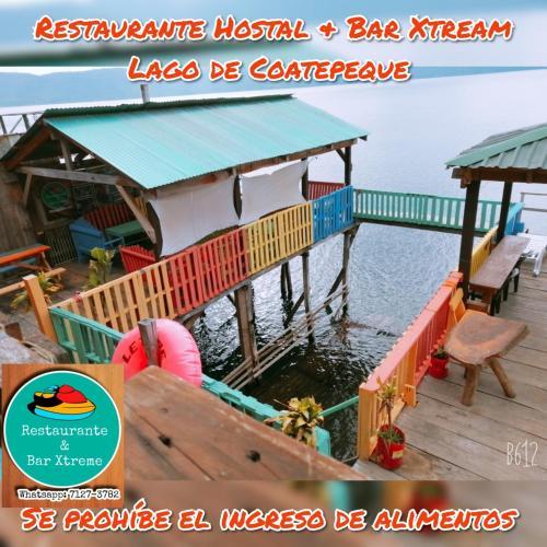 Hostal & Restaurante Bar Xtream Lago de Coatepeque, Santa Ana