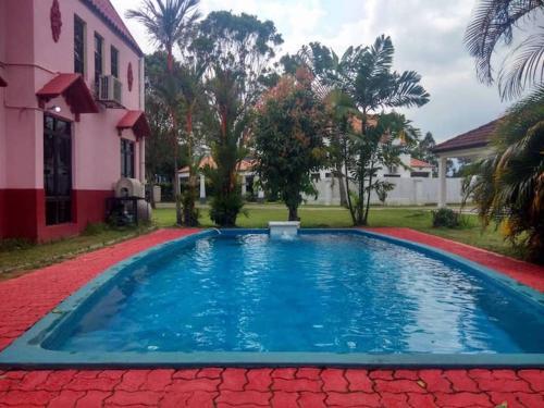 A'famoSa Resort 916 pool for homestay, Alor Gajah