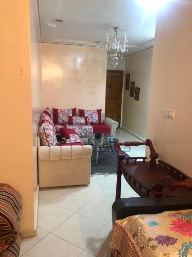Appartement meuble a louer par jour ou par mois dans un quartier calme et securise, Zouagha-Moulay Yacoub