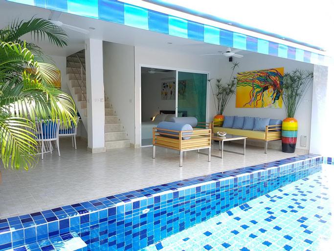Cosy 3 Bedroom Duplex w/ Private Pool Near Beach! - 29302669, Ko Samui