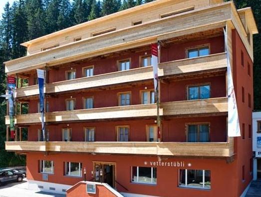 Arosa Vetter Hotel, Plessur