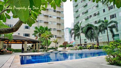 1BR @ Ridgewood Towers near VENICE GRAND CANAL, SM AURA Mall & BGC, Makati City