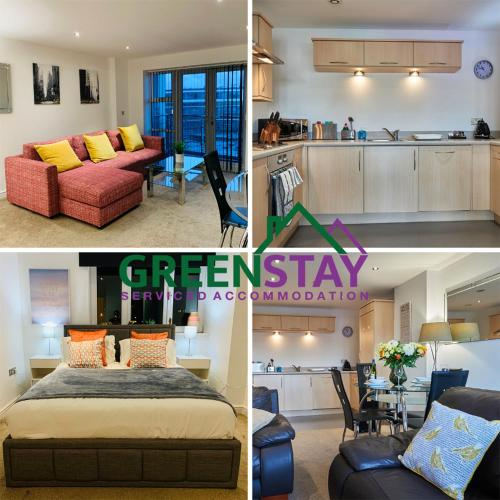 Clarence Court Newcastle by Greenstay Serviced Accommodation - 1 Bed Apartment, Ideal For Business T, Newcastle upon Tyne