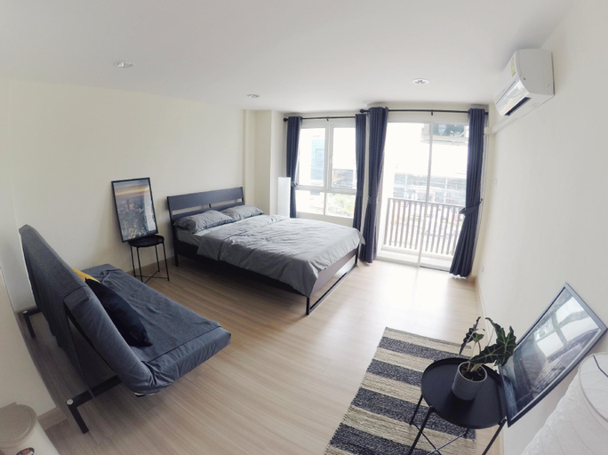 Hostbox Bangkok - Triple Room, Bang Plee
