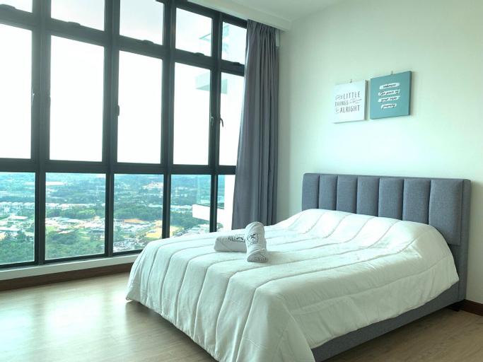 Green Haven @ UHA 1BR 1-3pax CozyComfy Permas Aeon, Johor Bahru