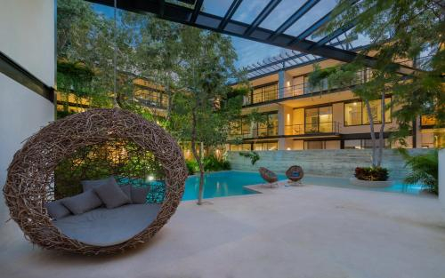 Great 2 BR Loft With Amazing Pool & Jungle View, Cozumel