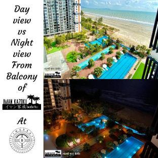 Sea + pool view + WiFi@ Iman Kazoku TimurBay Ville, Kuantan