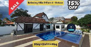 Relaxing Villa D'Faro 2 Deluxe Stay+Swim+Bbq, Alor Gajah