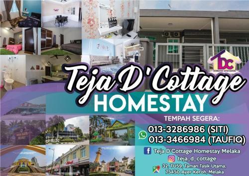 Teja D'Cottage Guesthouse, Kota Melaka