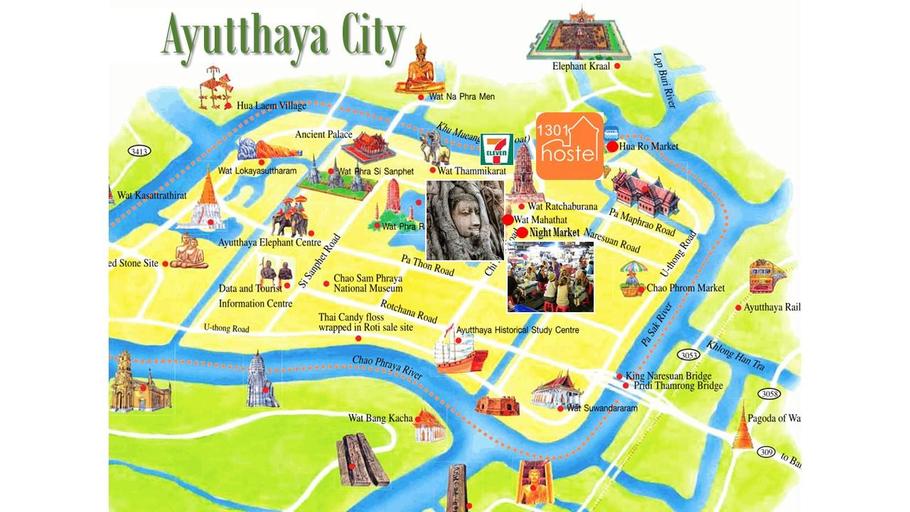 1301Hostel Ayutthaya, Phra Nakhon Si Ayutthaya