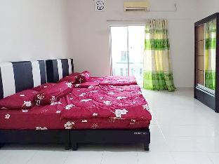 No 81 Private Room Twin Double Bed @4 Pax, Manjung