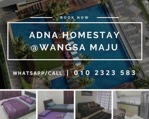 Adna Homestay Wangsa Maju, Kuala Lumpur